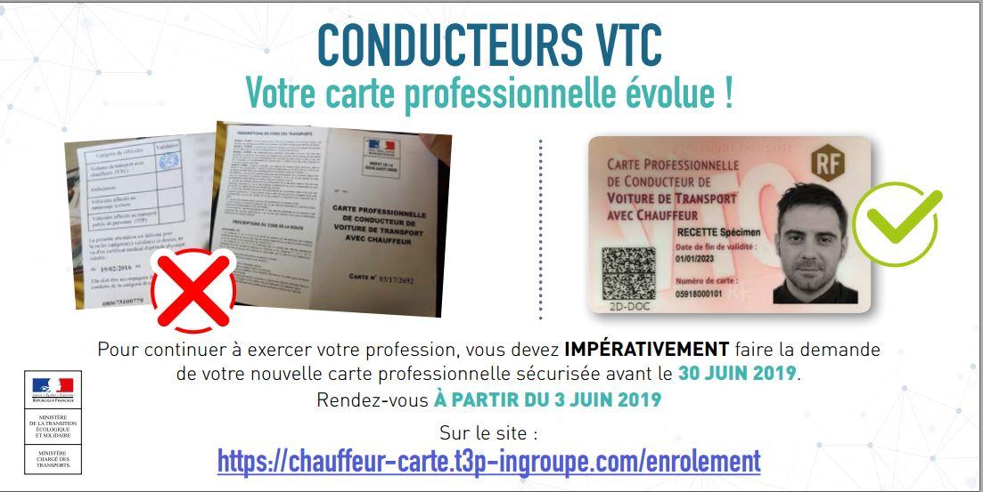 Carte Vtc 2019.Renouvellement Des Cartes Vtc Date Limite De Votre Demande